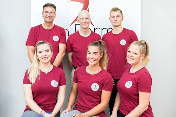 Hier sehen Sie das Team von In Form Bensberg.